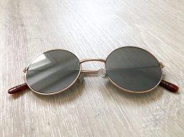 Sonnebrille mit runden Gläsern