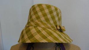 Cappello parasole verde oliva-oro