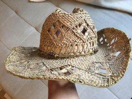 Vagabond Sombrero de ala ancha beige-marrón claro