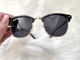 Aviator Glasses black-gold-colored