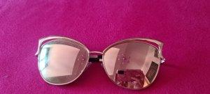 keine Gafas de sol ovaladas color rosa dorado