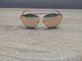 Gafas de sol ovaladas color rosa dorado