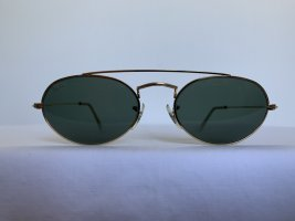 Ray Ban Ovale zonnebril goud Metaal
