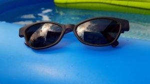 keine Bril zwart-bruin-paars