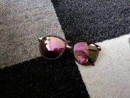 H&M Occhiale da sole ovale marrone