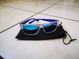 Angular Shaped Sunglasses blue
