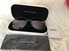 Marc Jacobs Ovale zonnebril bos Groen