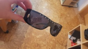 Accessorize Okulary czarny-srebrny