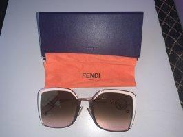 Fendi Angular Shaped Sunglasses multicolored