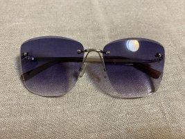 Manor Woman Hoekige zonnebril donkerblauw-donkerpaars