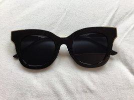 Retrobril zwart