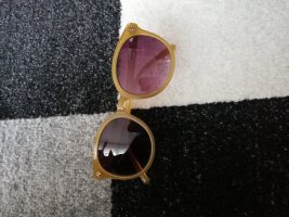 H&M Occhiale da sole ovale sabbia
