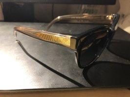 Burberry Gafas de sol redondas negro-marrón claro