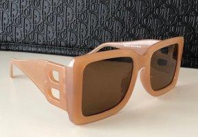Kwadratowe okulary przeciwsłoneczne Wielokolorowy Włókno octanowe