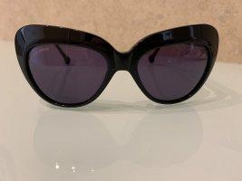Okulary motylki czarny
