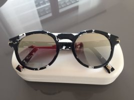 Marc Jacobs Round Sunglasses black-gold-colored