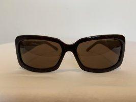 Marion Ramm Hoekige zonnebril cognac-room Acryl