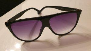 no name Gafas de sol redondas negro