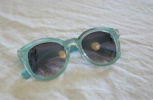 Sonnenbrille Blau Türkis Zara Sommer Cateye