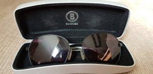 Bogner Owalne okulary przeciwsłoneczne ciemnoszary
