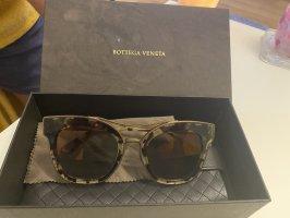 Bottega Veneta Butterfly bril donkerbruin-zwart bruin