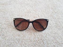 Sonnenbrille braun Butterfly Form