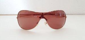 Sonnenbrille braun mit Strass