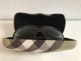 Burberry Occhiale da sole ovale marrone