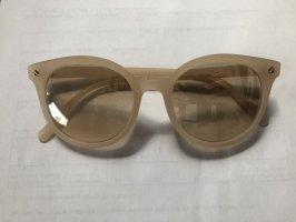 H&M Okulary w stylu panto jasnobrązowy