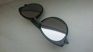 keine Gafas de sol ovaladas negro
