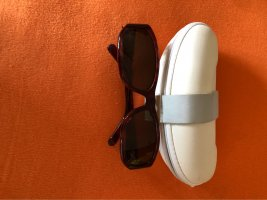 Calvin Klein Kwadratowe okulary przeciwsłoneczne brązowy