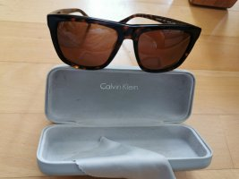 Calvin Klein Occhiale da sole spigoloso marrone