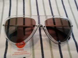 Calvin Klein Jeans Pilotenbril lichtgrijs-donkergrijs