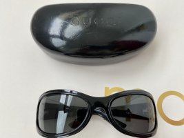 Gucci Pilotenbril zwart Metaal