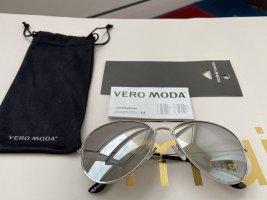 Vero Moda Pilotenbril zilver Gemengd weefsel