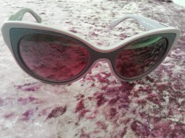 Diesel Oval Sunglasses dark violet