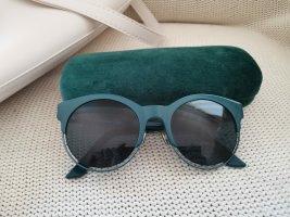 Dior Oval Sunglasses petrol