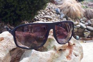 Emporio Armani Square Glasses multicolored polyacrylic
