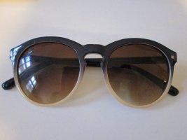 Sonnenbrille Farbverlauf dunkelblau creme Chipie