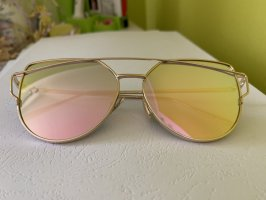 Butterfly Glasses rose-gold-coloured-gold-colored