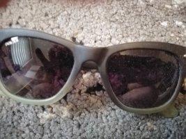 Sonnenbrille für Damen von Polar mit Polar Leder Etui und Polar Brillenputztuch