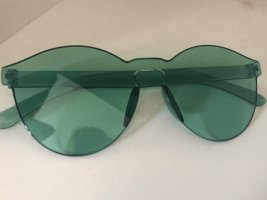 Round Sunglasses green-lime-green