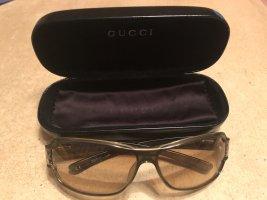 Gucci Lunettes de soleil kaki