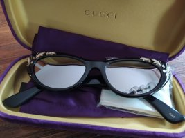 Gucci Gafas de sol ovaladas negro