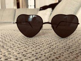 Sonnenbrille Herzform