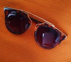Okrągłe okulary przeciwsłoneczne Wielokolorowy