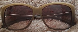 Jil Sander Oval Sunglasses sand brown-light brown
