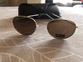 D.Franklin Aviator Glasses black-gold-colored