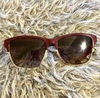 Lacoste Angular Shaped Sunglasses carmine-gold-colored
