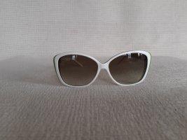 Lacoste Gafas de sol cuadradas blanco-verde claro